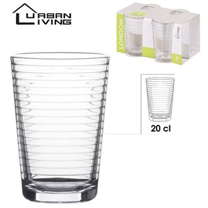 Glass London 4pk 20cl