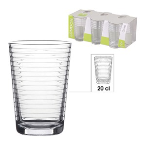 Glass London 6pk 20cl